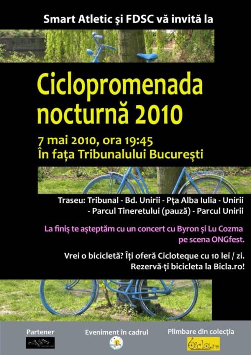 Ciclopromenada nocturna 2010